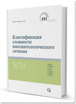 SAC Классификация сложности имплантологического лечения. ITI (Э. Доусон, С. Чен, Д. Бузер, Л. Кордаро, У. Мартин, У. Белсер) 2017 г.